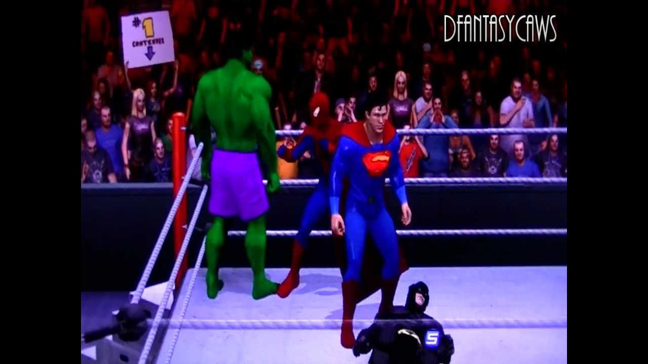 spiderman vs superman game