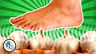 Can You Taste Garlic... With Your FEET!? (Weird Food Tricks #2)
