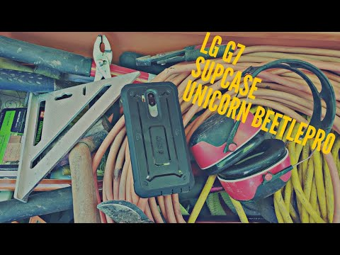 Lg G7 ThinQ - Supcase Unicorn Beetle Pro Review   Best Rugged Case
