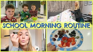 SCHOOL MORNING ROUTINE WITH THREE KIDS  |  EMILY NORRIS | AD
