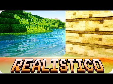 Minecraft - Realistico 512x Resource Pack with SEUS Shaders