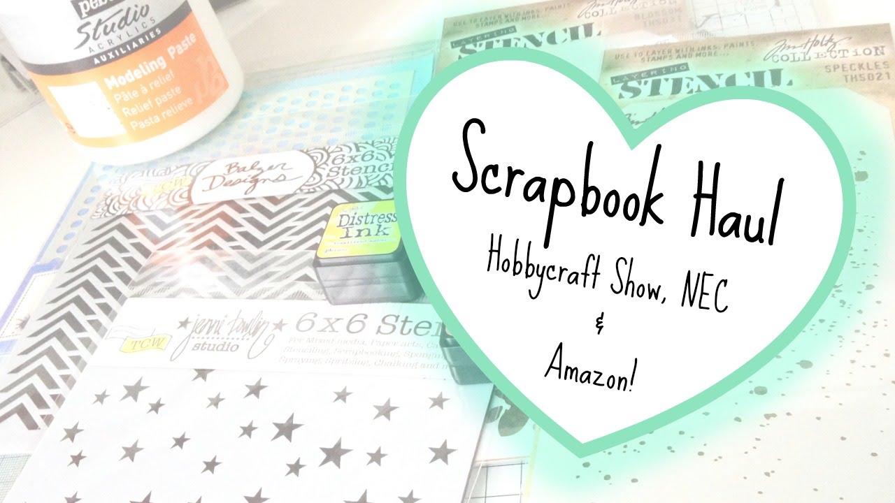 Scrapbook ideas hobbycraft - Scrapbook Haul Hobbycraft Show Nec