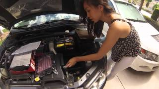 How to: Change Air Filter on an Evo 9