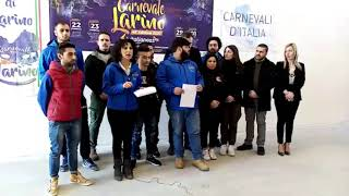 Carnevale di Larino 2020: la presentazione