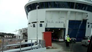 Tallink Silja Line M/S Silja Europa (1993) in Mariehamn, Åland Islands, 16 Aug. 2011