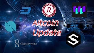Cryptocurrency : AGI DASH WTC IOST ONT Altcoin Update. Trading.  Crypto Technical Analysis