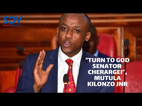 """Turn to God senator Cherargei"", Mutula  asks colleague during the debate for revenue sharing"
