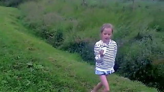 2014 06 Catgill Campsite Lexi Dance Moves