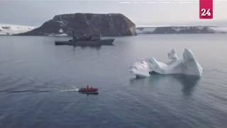 Russia discovers five Arctic islands uncovered by melting ice