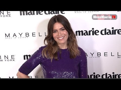 Mandy Moore at Marie Claire 2017 'Fresh Faces' Celebration Red carpet
