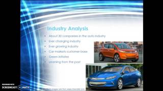 General Motors Engineering Economics Report