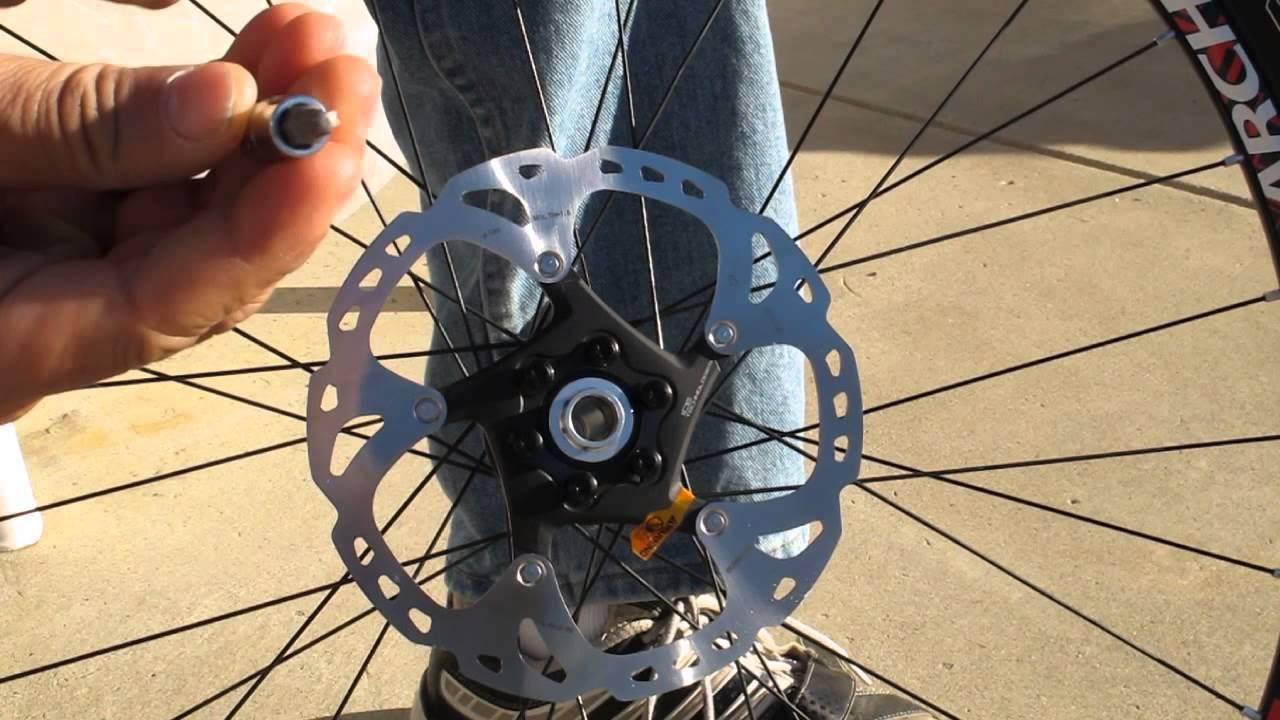 fc74ef7b270 Brake Rotor Installation - YouTube