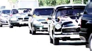 Жених едет за невестой: пафосный ролик