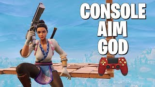 Better Aim Than Ninja With a Controller?? (Fortnite Battle Royale Gameplay)