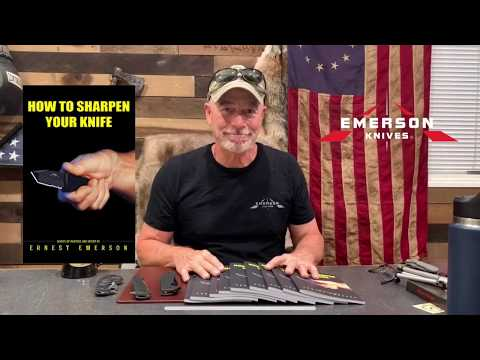 New Book: How To Sharpen Your Knife By Ernest Emerson Of Emerson Knives
