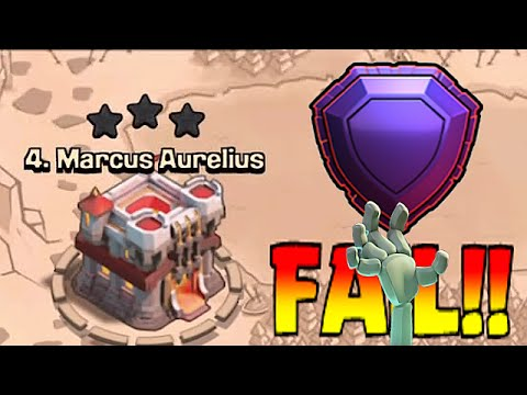 Clash Of Clans - PRO LEGENDARY FAILS!! (How not to attack in clan wars!)