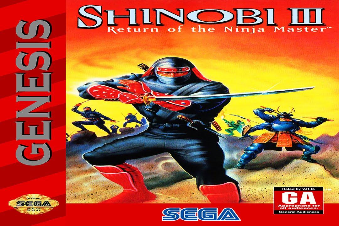 Sega Shinobi