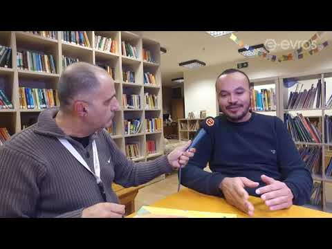 LIVE: O δημιουργός κόμικ Ν. Καμπασελέ στην κάμερα του e-evros.gr