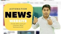 Create NEWS Website and Get News on AUTO-Pilot mode - Huge Profit | Roy Digital