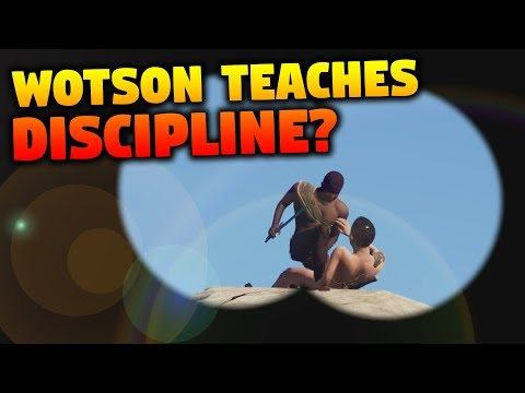 Wotson Teaches Discipline | The Tree Fort
