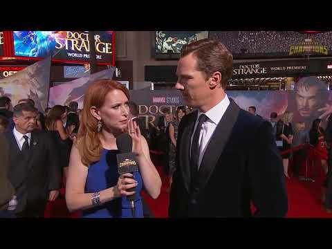 Robert Downey JR Crashing Benedict Cumberbatch's Interview