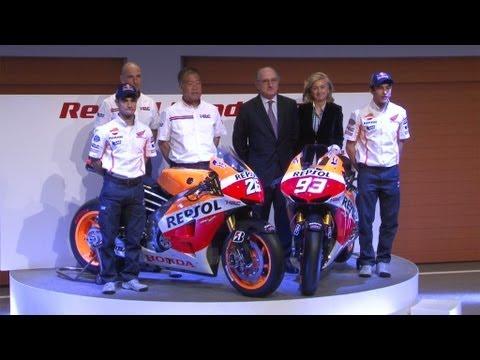 Presentación Del Equipo Repsol Honda Motogp 2013 Youtube