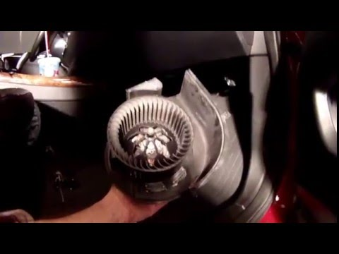 BMW X5 E70 HVAC Blower Motor replacement YouTube