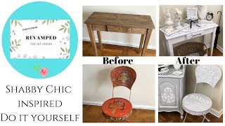 🌸SHABBY CHIC INSPIRED DO IT YOURSELF 🛠
