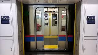 東京メトロ南北線ホームドア開閉