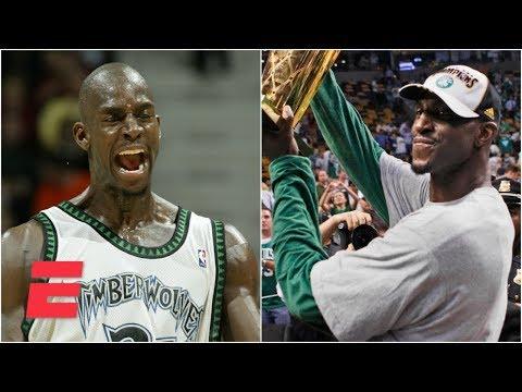 Kevin Garnetts perseverance led to fairytale career  ESPN Archives