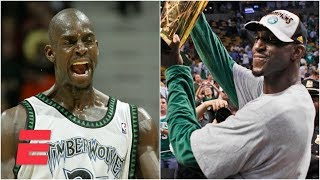 Kevin Garnett's perseverance led to fairytale career | ESPN Archives