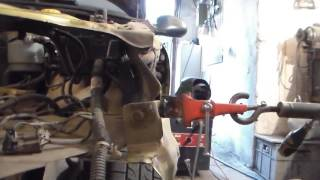 Вытяжка крепления крыла и бампера Деу Сенс-4