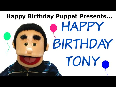 Happy Birthday Tony - Funny Birthday Song