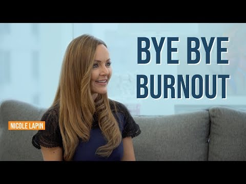How To Keep Yourself From Burning Out - With Nicole Lapin | Jim Kwik