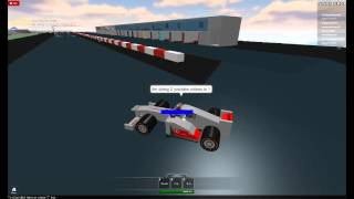 Roblox Racing 1 and LOL Crashes 3 Part 1 The Cheater who takes starting positions