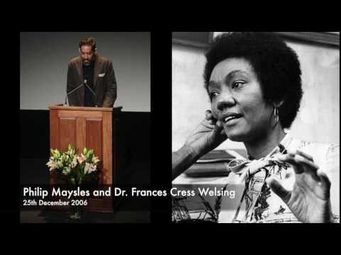 Philip Maysles and Dr. Frances Cress Welsing