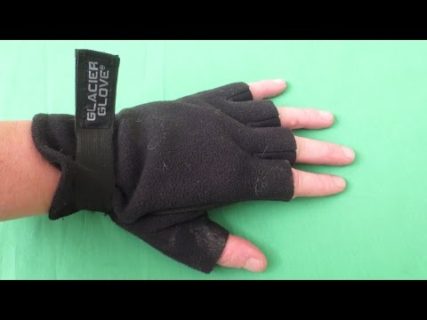 Glacier Glove Alaska River Fleece Fingerless Fishing Glove review