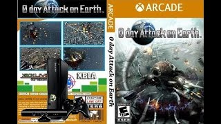 0 Day Attack on Earth Xbox 360 real gameplay