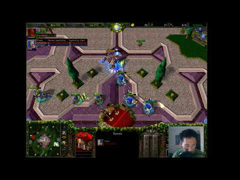 Check (NE) vs Lyn (Orc) - WarCraft 3 - Heroes vs Army - WC####