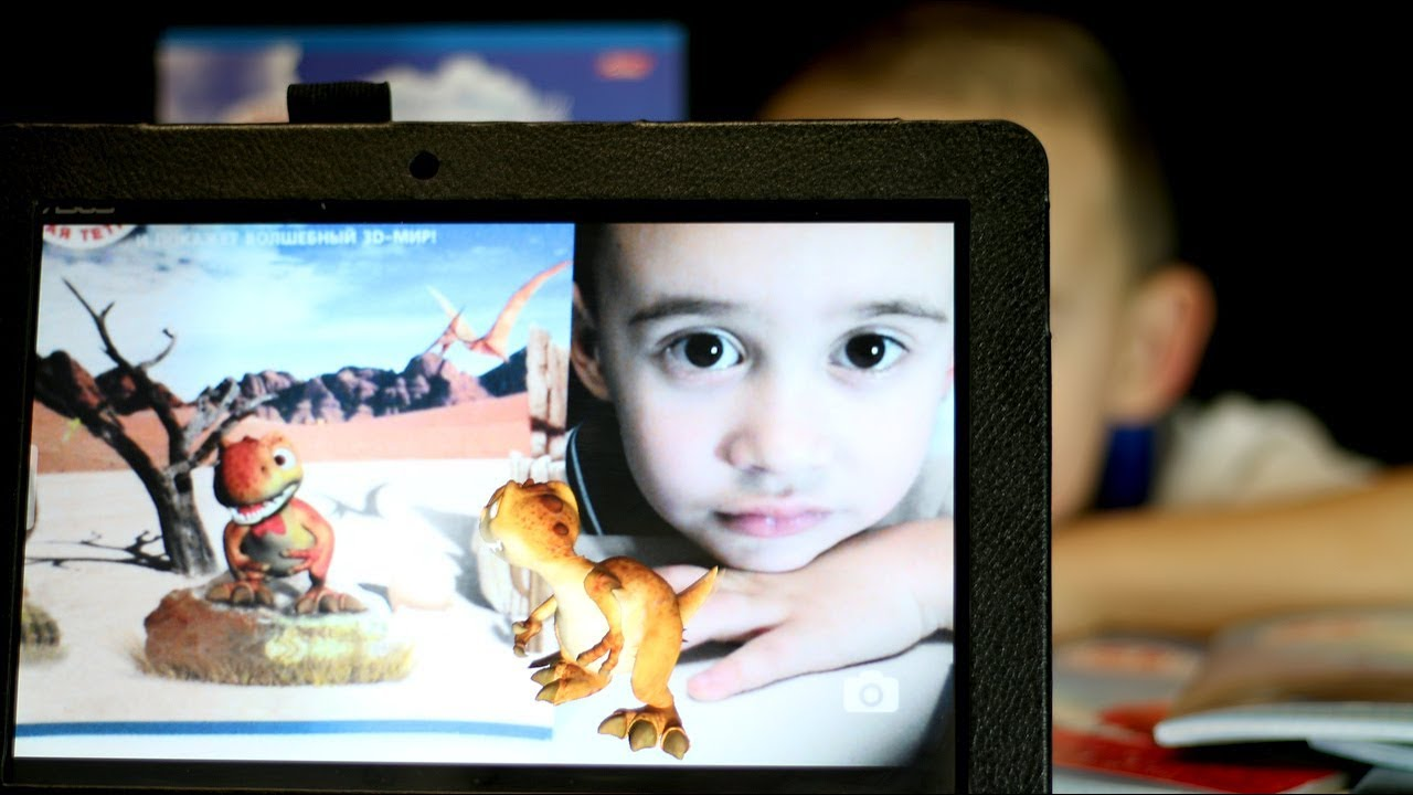 Раскраски для детей. Живые тетради с обложкой 3d и приложение для детей Live Photo