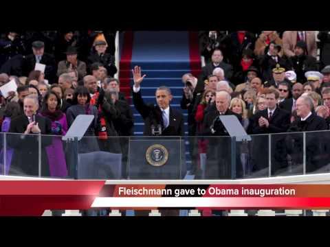 Chuck Fleischmann gave money to Obama inauguration