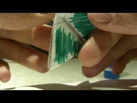 How To Make 6 Coloured Hexaflexagon - Explained - Inspired By Vihart
