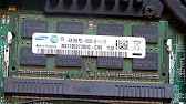 4 0GB Samsung PC3-10600 DDR3 1333MHz SO-DIMM 204 Pin SO-DIMM .