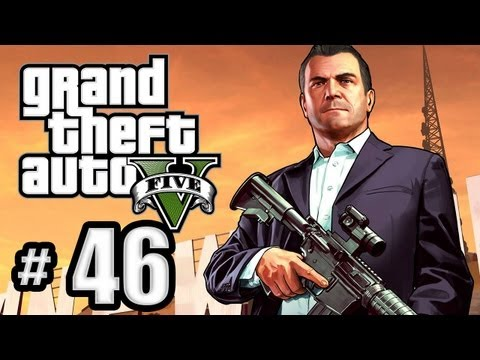 Grand Theft Auto 5 Gameplay Walkthrough Part 46 - The Big Score! (Obvious Approach)