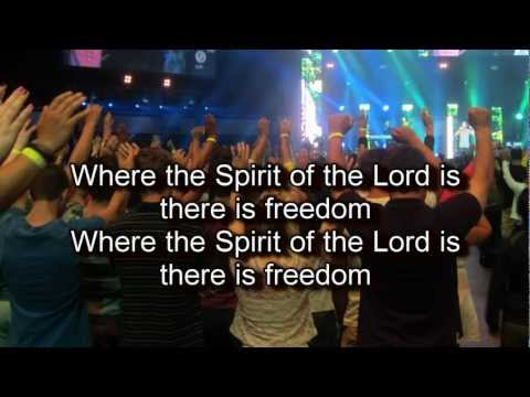Freedom - Bethel Live (Worship song with Lyrics) 2012 Album