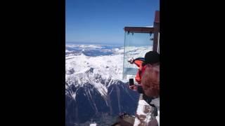 Jump wingsuit Alfredo Chamonix Aiguille du Midi