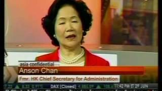 Hong Kong Handover Ceremony - Bloomberg