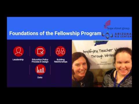 Hope Street Group Arizona Teacher Fellowship - Info Session