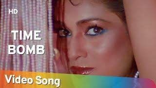 Time Bomb Aasmaan 1984 Rajiv Kapoor Tina Munim Filmi Gaane
