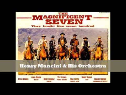 magnificent seven henry mancini his orchestra youtube. Black Bedroom Furniture Sets. Home Design Ideas